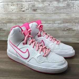 Son of Force Mid White Pink Air Force 1